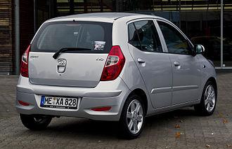 Hyundai i10 - 2011 facelift