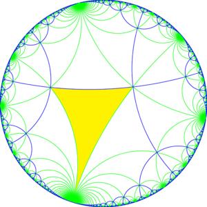 Truncated tetraapeirogonal tiling - Image: I42 symmetry a 00