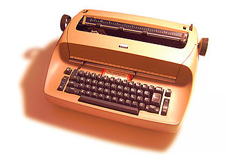 IBM Selectric typewriter - IBM Selectric I