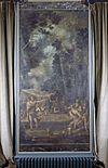 interieur, bovenkamer, geschilderd behang, paneel - nieuwenhoorn - 20264315 - rce
