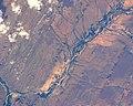 ISS-38 Prince Albert, South Africa, Sand and Gamka Rivers.jpg