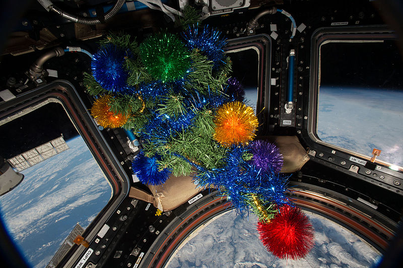 File:ISS-46 Christmas Tree in Cupola module.jpg