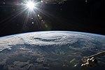 ISS-56 Hurricane Florence as it was making landfall (1).jpg