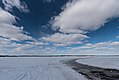 Ice Road on Frozen Birch Lake - Babbitt, Northern Minnesota (26920216508).jpg
