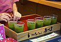 Iced Matcha Tea Along Nakamise-Dori (15484376095).jpg