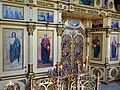 Iconostasis (Altar Screen) in Church of St. Nicholas - Taras Shevchenko Park - Dnipropetrovsk - Ukraine (44088383232).jpg