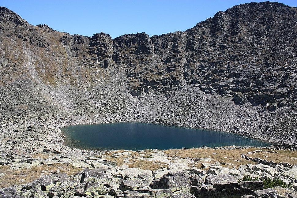 Icy-lake