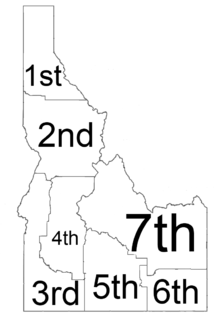 Image Result For Where Is Idaho On A Map