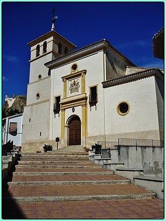 Oculus - Image: Iglesia Parroquial de San Pedro, Calasparra, Región de Murcia, España