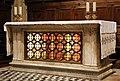 Il buggiano, altare delle reliquie, con grata di michelozzo 01.jpg
