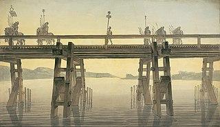 Caesars Rhine bridges bridge
