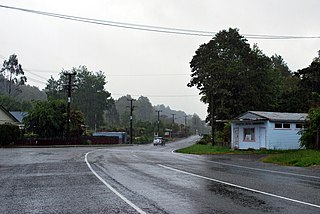 Inangahua Junction Place in West Coast, New Zealand