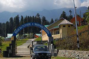 High Altitude Warfare School - Image: Indian Army High Altitude Warfare School ( HAWS)