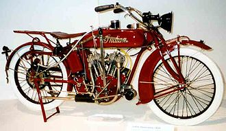 Indian Motocycle Manufacturing Company - 1920 Indian Powerplus