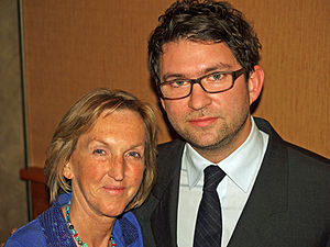 Ingrid Newkirk - Image: Ingrid Newkirk and Matthew Galkin by David Shankbone