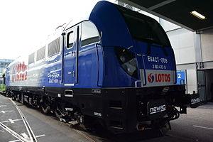 Newag Dragon - E6ACT-008 produced for Lotos Kolej at the InnoTrans Trade Fair, 2014