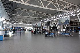 The departure area of terminal 1