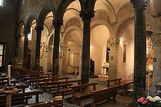 Santi Apostoli, Florence - Interior of Santi Apostoli