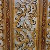 interieur, balkenplafond, detail van plafondschildering - gouda - 20330945 - rce