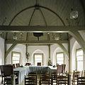 Interieur, overzicht van het interieur van het koor op de eerste verdieping, de trouwzaal, met beschilderd tongewelf - Beets - 20388552 - RCE.jpg