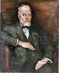 Interieur, schilderij met portret van de oud-directeur van de Rijks -dienst voor de Monumentenzorg de heer J.Kalf - Zeist - 20343099 - RCE.jpg