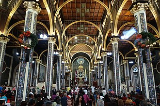 Cartago, Costa Rica - Interior of the Basilica in Cartago