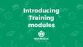 Introducing Training modules - Wikimania 2017 presentation.pdf
