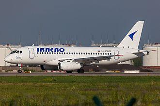 IrAero - IrAero Sukhoi Superjet 100 at Domodedovo Airport
