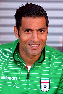 Amir Hossein Sadeghi Iranian former football player (born 1981)