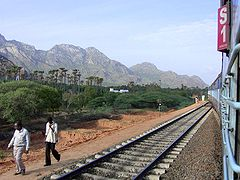 Broad gauge is the most predominant gauge used by the Indian railway.