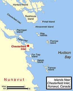 island in Nunavut, Canada