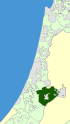 Israel Map - Mateh Yehuda Regional Council Zoomin.svg