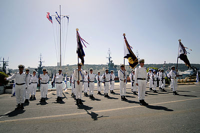 Israeli Sea Corps guard of honour.jpg