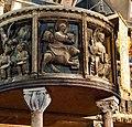 Italie, Modène, Duomo ou Cattedrale di Santa Maria Assunta in Cielo e San Geminiano (XIIe - XIIIe siècles), Détail de la tribune du grand jubé (50245703247).jpg