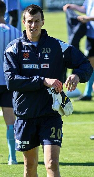 Ivan Necevski at 2009-2010 pre-season training...