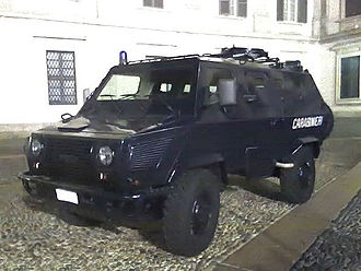 Iveco VM 90 - A VM 90P of the Carabinieri.