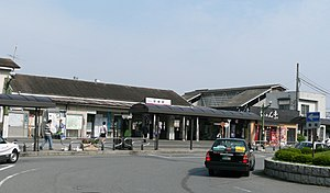 Iwatsuki Station - The station in September 2009, before rebuilding