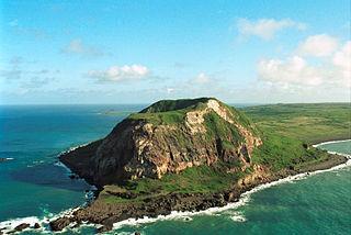 mountain on Iwo Jima