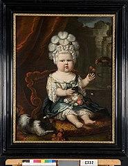 Portret van een kind, mogelijk Maria Margaretha Hoynck van Papendrecht (1688-1692)
