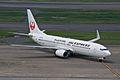 JAL Express Boeing 737-800 JA302J (7179570034).jpg