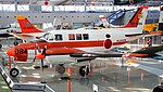 JASDF B-65(03-3094) left front top view at Hamamatsu Air Base Publication Center November 24, 2014 02.jpg