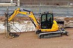 JCB compact excavator, 2013.JPG