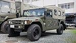 JGSDF High Mobility Vehicle(06-9502) left front view at Camp Akeno November 4, 2017.jpg