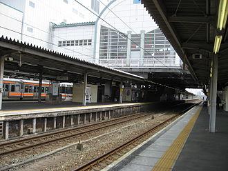 Toyohashi Station - Tokaido Main Line platforms