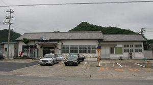 Kamigōri Station - Kamigōri Station in June 2008