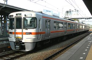 313 series - 3-car set T15, April 2010