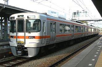 313 series - 3-car set T15, April 2010