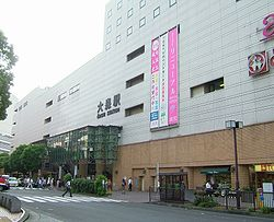 JR omori station east entrance.JPG