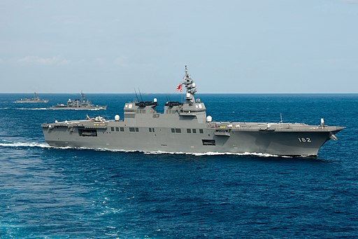 JS Ise, Haruyuki and Abukuma in the East China Sea after Keen Sword 2013, -16 Nov. 2012 c