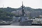 JS Murasame(DD-101) right front view at JMSDF Yokosuka Naval Base April 30, 2018 01.jpg